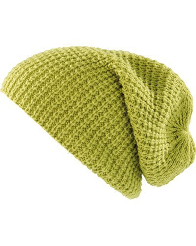 Pearl Urban Bonnet tricoté XXLLong Beanie - Vert Clair