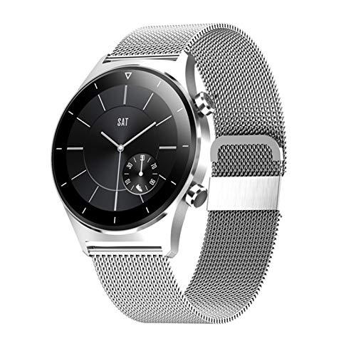 BFL El último Reloj Inteligente para iOS, Android E13 Sports Sports SmartWatch GPS admite la Pantalla Redonda de la podómetro Bluetooth Watch Ladies,E