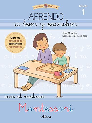 Aprendo a leer y escribir con el método Montessori (nivel 1): Un cuaderno práctico (Juega y aprende)