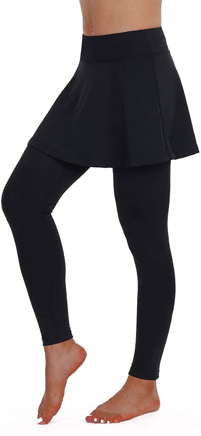 Max 85% Max 55% OFF OFF ANIVIVO Skirted Legging for Women with Skirts Yoga Wom