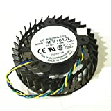 Replacement Video Card Cooling Fan For 8800ultra 8800GTX 8800GS Graphics Card Fan BFB1012L DC 12V 0.48A 4 Pin