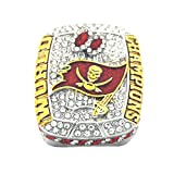 2020 Tampa Bay Super''Bowl Championship Fans Ring whit box size 11 Buccaneers Champions Tom 12 Brady Goat Christmas birthday Gifts for Men Women Kids Boys