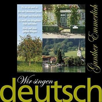 Wir Singen Deutsch - Hoch Auf Dem Gelben Wagen