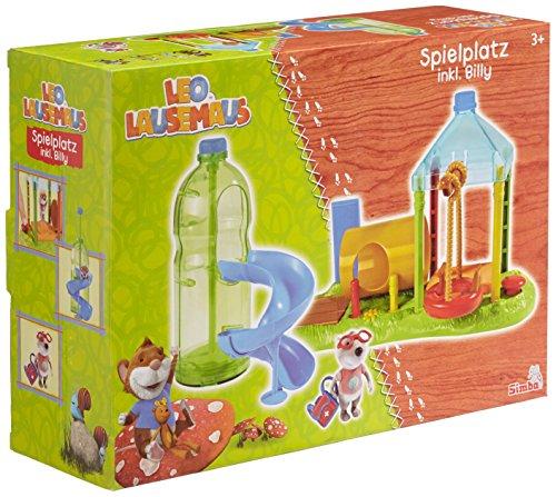 Simba 109222765 Leo Lausemaus Spielplatz mit Billy, Mehrfarbig