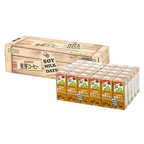 [Amazon限定ブランド]キッコーマン飲料 豆乳飲料 麦芽コーヒー SOYMILK DAYS 200ml×30本