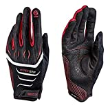 Sparco 002094NRRS11 Guantes, Negro/rojo, 11