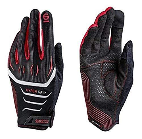 Sparco 002094NRRS11 Handschuhe Hyper Größe 11 Schwarz/ R