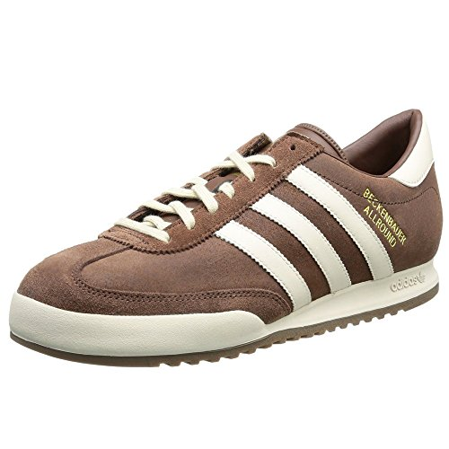 Adidas Originals Beckenbauer Deportes Hombre Zapatillas Casual - Marron, 42 EU