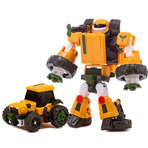 Siyushop Transformer Robot Voiture, Jouets for Enfants Deformation, Robots Deformation, Garçon Et Une Fille De Voiture Jouets, 2-8 Ans Enfants ( Color : 2 )