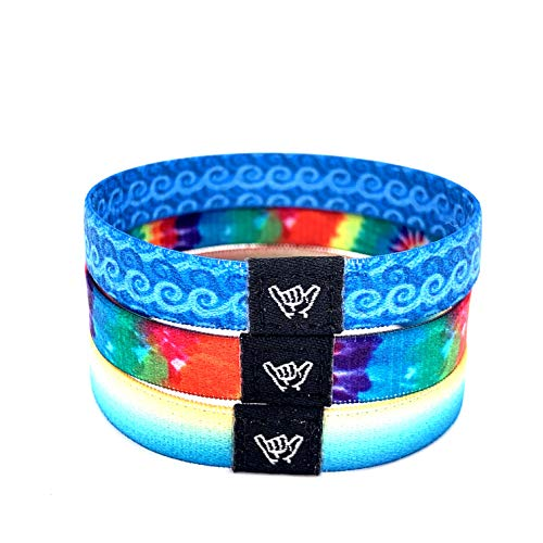 NEW Hang Loose Bands 3-pack (Beach Bomb Pack, 6.5)