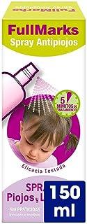 FullMarks Spray Antipiojos para Niños con Lendrera, Sin