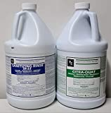 Hospital Grade Disinfectant & Cleaner Concentrate Combo Pack ~ Comes with a Gallon of SR-22 Sanitizing Rinse & Citra Quat (Concentrate That Makes Hundreds of gallons of Product)