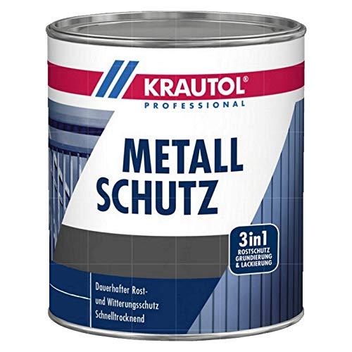 Krautol Metallschutzlack matt dunkelgrün 750 ml