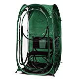 Under the Weather Hunter Green MyPod 1 Person Pop-up Weather Pod. The Original, Patented WeatherPod