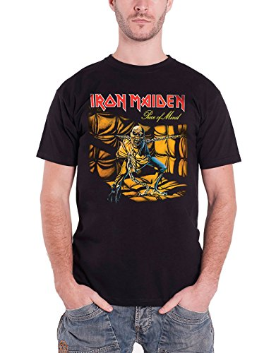 Iron Maiden Piece of Mind Men's T-Shirt - FR : XX-Large (Taille fabricant : XX-Large)