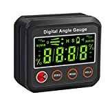 AUTOUTLET Digital Angle Gauge Magnetic Angle Gauge with Alarm Function Angle Finder Certified IP42 Dust & Water Resistant Bevel Box Level Measuring Tool for Carpentry,Automobile,Woodworking,Table Saw