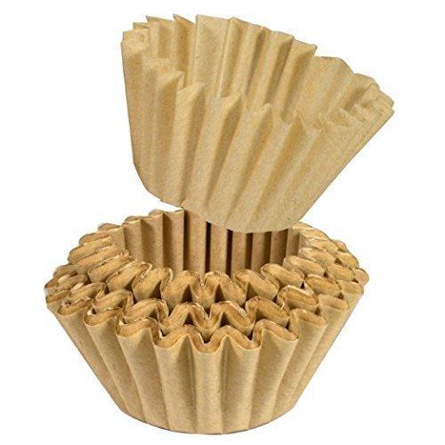 GastroTrade 250 Universal Papier-Korbfiltertüten für BEEM Fresh-Aroma-Perfect Deluxe und Freh-Aroma-Perfect Duo und weiteren Kaffeemaschinen mit Mahlwerk Korbfilter 200/80 Beem kaffeefilter