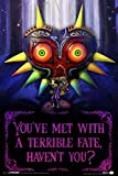 Pyramid America Zelda Youve Met with A Terrible Fate Havent You Video Game Gaming Laminated Dry Erase Sign Poster 24x36