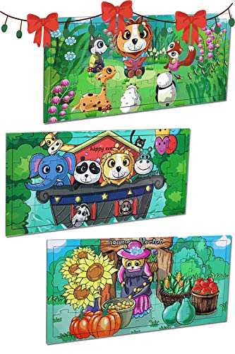 Gift Jigsaw Puzzles for Kids Ages 3-5, 36 Piece Interesting Pattern...