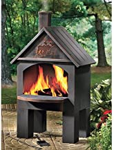 Best cabin-style outdoor cooking steel chiminea Reviews