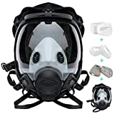 Reusable Full Face Cover 15 in 1, AYYBF Full Face...