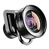 Apexel 2IN1 Lente de cámara para teléfono Celular-Lente Macro 10X+Lente Gran Angular de 120 Grados para iPhone 11/11pro Samsung Galaxy S10/S10 más Huawei y la mayoría de los teléfonos Inteligentes