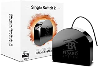 FIBARO FGS-213 ZW5 US Single 2 Z-Wave Plus Smart, Remote Relay Switch for 1 device