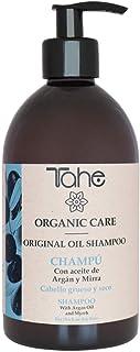 Tahe Original Oil - Champú para Cabellos Gruesos Rebeldes y Secos con Aceite de Argán y Mirra 500 ml