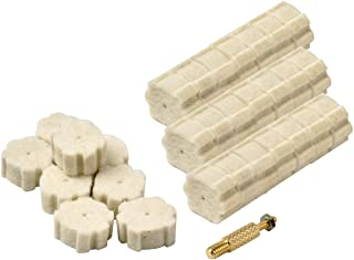 NIDAYE 50pcs .223/5.56 Chamber Cleaning Pads & Attachment