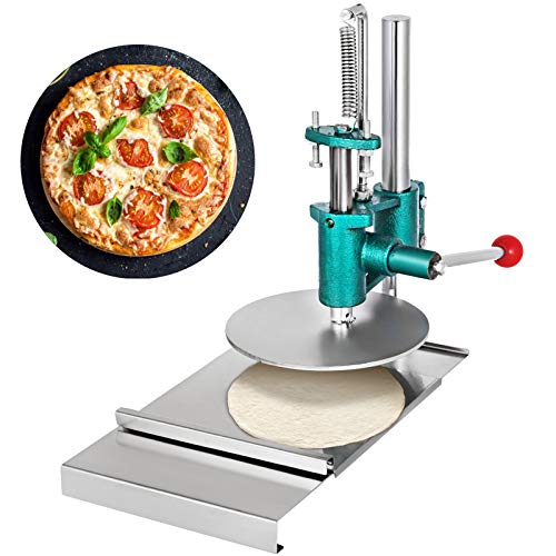 VEVOR Pizza Pastry Press Machine 7.87inch 200mm Stainless Steel Household Pizza Dough Pastry Manual...