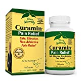 Terry Naturally Curamin - 120 Vegan Capsules - Non-Addictive Pain Relief Supplement with Curcumin from Turmeric, Boswellia & DLPA - Non-GMO, Gluten-Free - 40 Servings