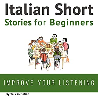 Couverture de Italian Short Stories for Beginners