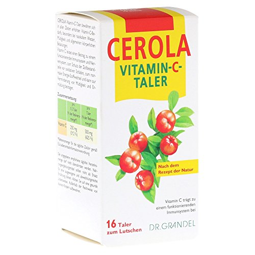 Cerola Vitamin C Taler, 16 St