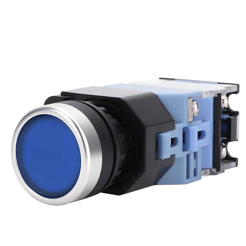 顧問ホバートバンケット押しボタンスイッチ リセットスイッチ ライト付き 220VAC 22mm 10個セット 自動リセットタイプ フラットボタンスイッチ BEM38-11D(3)