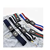 Daya by Zendaya 4 Pieces Buckle-Free Invisible Elastic Waist Belts, Comfortable Buckle-Less No Bulge...