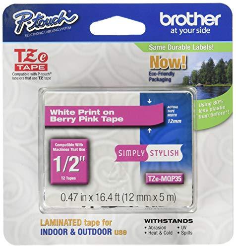 Brother TZe-MQP35 cinta para impresora de etiquetas - Cintas para impresoras de etiquetas(5...