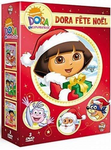 Dora l'exploratrice - Coffret - Dora fête Noël [Francia] [DVD]