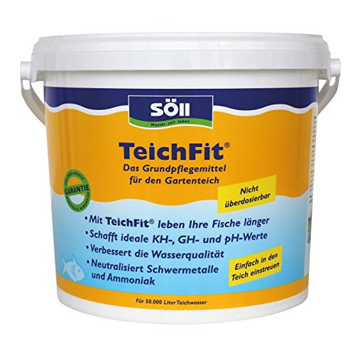 Söll 15150 TeichFit - Das Grundpflegemittel für den Gartenteich - 5 kg