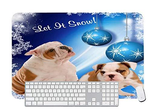 Alfombrilla de ratón para juegos Cyber Snowflake para escritorio y portátil 1 paquete de 1000 x 500 x 3 mm
