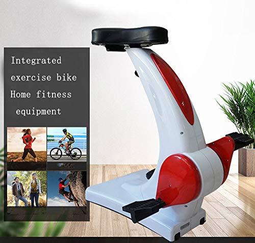 Bewinch Heimtrainer, Fahrrad Widerstand Fahrrad Schalter Home Gym Pedal, Tischübung Tragbares Mini-Heimtrainer,ideal für Fitness oder Rehabilitation.