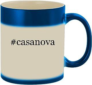 #casanova - 11oz Ceramic Color Changing Heat Sensitive Coffee Mug Cup, Blue