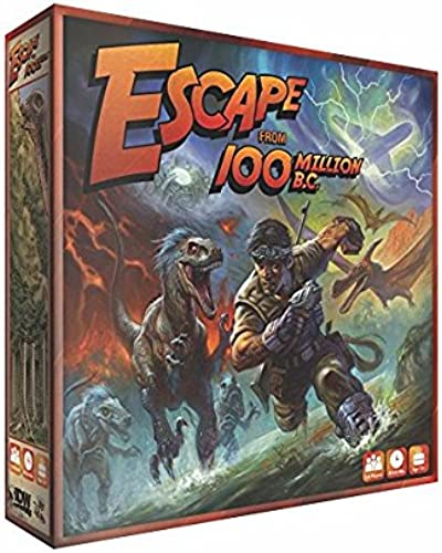 IDW Games IDW01161 Nein Escape from 100 Million B.C, Spiel