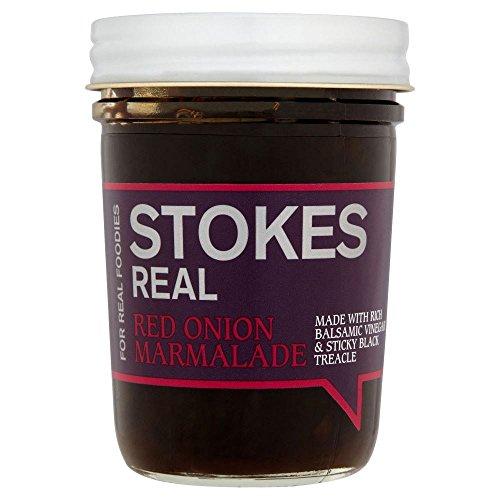 Stokes Salse Marmellata Di Cipolla Rossa (265g) (Confezione da 2)