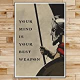 WA009 - Your Mind Is Your Best Weapon English - Warrior