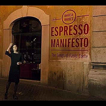 Espresso Manifesto: The Songs of Paolo Conte