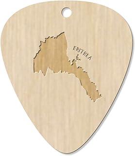 7 x 'Eritrea Country' Guitar Picks / Pendants (GP00013214)