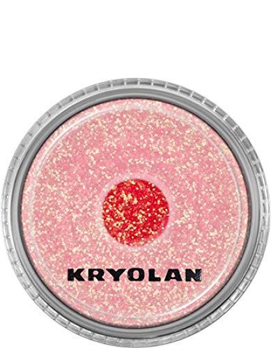 Kryolan Polyester Glimmer mittel, ca. 4g Pastel Pink
