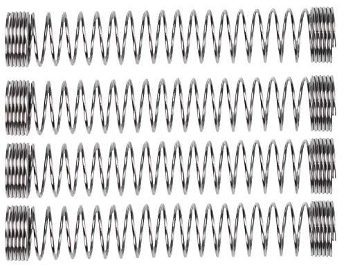 SMKR Basics Shisha Feder gegen lästiges Abknicken deiner Schläuche | für alle Silikon Schläuche | Knickschutzfeder gegen knicken Schlauch Silikonschlauch Zubehör Adapter Set (4)