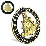 ASmileIndeep Past Master Masonic Car Emblem...