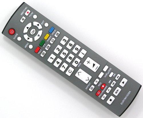 Ersatz Fernbedienung für Panasonic EUR7651030A Fernseher TV Remote Control / Neu